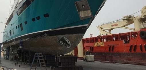 Dry Docking  |  Afloat Maintenance & Repairs Alongside