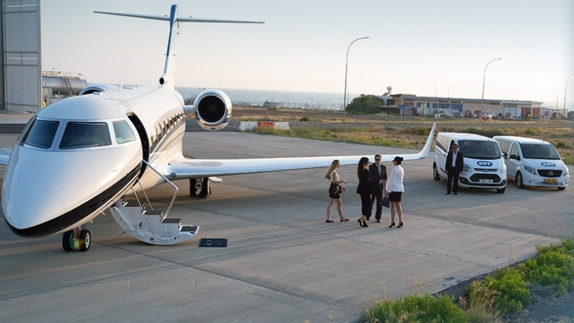 EDT Hangar Services - Executive Aircraft Handling & Hangarage Services at Pafos (Paphos) Airport, Cyprus