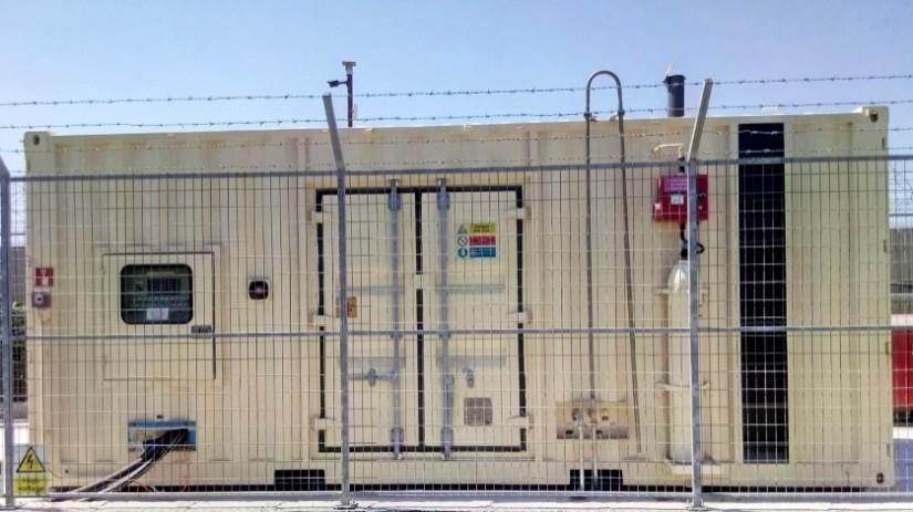 EDT Offshore - Oil & Gas Logistics Shorebase in the New Port of Limassol - Generators