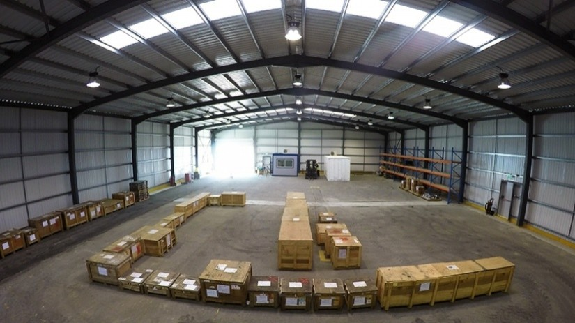 EDT Offshore - Oil & Gas Logistics Shorebase in the New Port of Limassol - Warehouse - Copyright: TOTAL E&P Cyprus B.V.