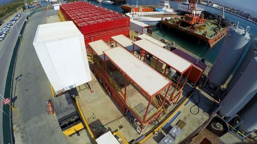 EDT Offshore - Oil & Gas Logistics Shorebase in the New Port of Limassol - Drilling Fluids Plant