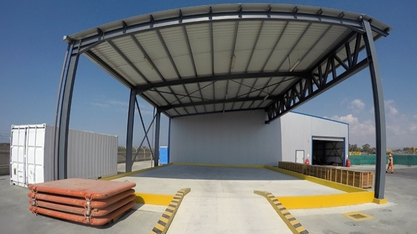 EDT Offshore - Oil & Gas Logistics Shorebase in the New Port of Limassol - Hazardous Goods Contained Area