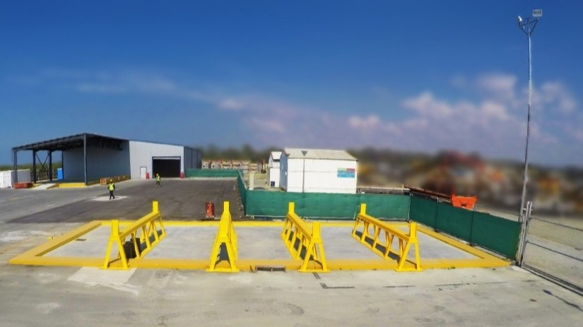 Offshore - Oil & Gas Logistics Shorebase in the New Port of Limassol - Pipe Cleaning Contained Area
